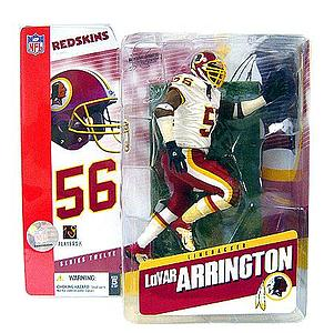 NFL Sportspicks Series 12: Lavar Arrington White Jersey Variant (Washington Redskins)