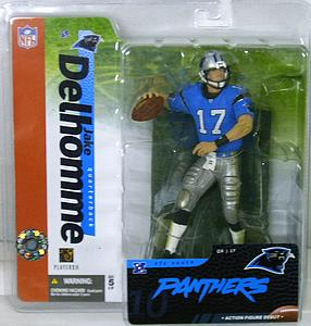 NFL Sportspicks Series 10: Jake Delhomme Blue Jersey Variant (Carolina Panthers)