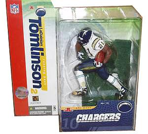 NFL Sportspicks Series 10: LaDainian Tomlinson White Jersey Variant (San Diego Chargers)