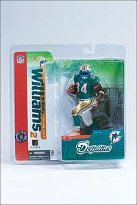 NFL Sportspicks Series 10: Ricky Williams Blue Face Grill (Miami Dolphins)