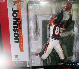 NFL Sportspicks Series 9: Chad Johnson Black Jersey Variant (Cincinnati Bengals)