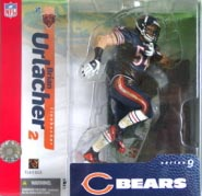 NFL Sportspicks Series 9: Brian Urlacher Black Pants Variant (Chicago Bears)