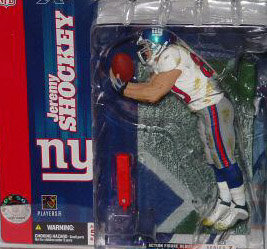 NFL Sportspicks Series 7: Jeremy Shockey White Jersey Variant (New York Giants)