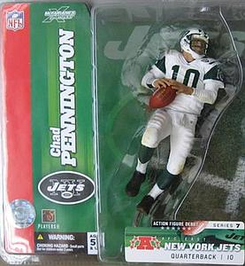 NFL Sportspicks Series 7: Chad Pennington Green Jersey Variant (New York Jets)