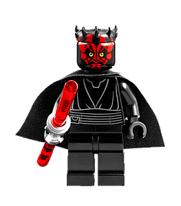 Star Wars Minifigure: Darth Maul (SW-34)