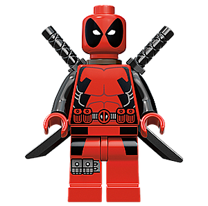 Marvel Comics SuperHeroes Minifigure: Deadpool