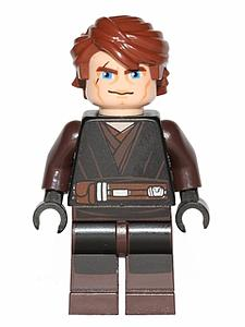Star Wars Minifigure: Anakin Skywalker [Clone Wars] (SW-6)