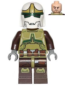Star Wars Minifigure: Bounty Hunter (SW-17)