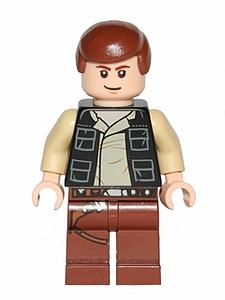 Star Wars Minifigure: Han Solo (SW-57)