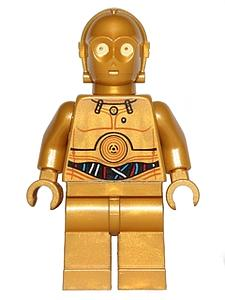 Star Wars Minifigure: C-3PO (SW-18)