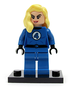 Marvel Comics SuperHeroes Minifigure: Invisible Woman (ML-101)