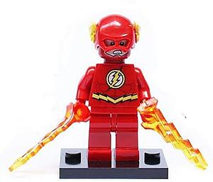 DC Comics SuperHeroes Minifigure: The Flash (DC-143)