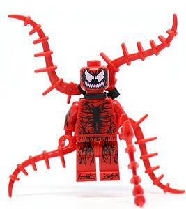 Marvel Comics SuperHeroes Minifigure: Carnage (ML-38)