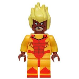 Marvel Comics SuperHeroes Minifigure: Pyro (ML-151)