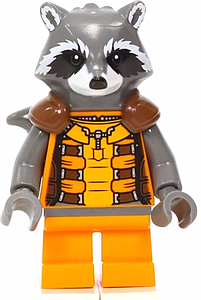 Marvel Comics SuperHeroes Minifigure: Rocket Raccoon (ML-161)
