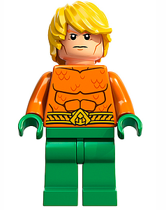 DC Comics SuperHeroes Minifigure: Aquaman (DC-3)