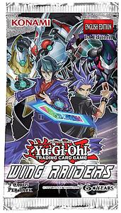 Yugioh Trading Card Game: Wing Raiders Booster Pack