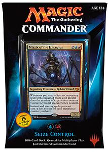 Magic the Gathering: Commander 2015 - Seize Control Deck