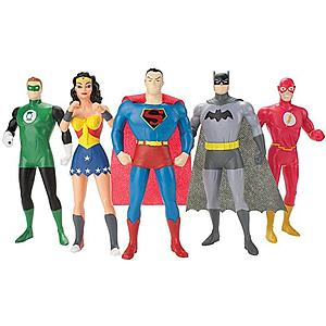 Justice League The New Frontier: 5-Pack Bendable Boxed Set