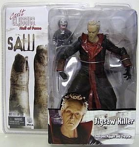 Cult Classics Hall of Fame Saw II Jigsaw Killer Features Puppet and Tricycle