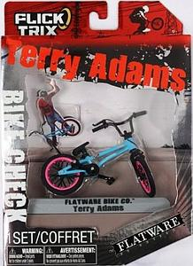 Flick Trix Terry Adams Bike Check Flatware Bikes