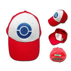 Pokemon Cosplay Hat / Cap Ash Ketchum's (Black & White)