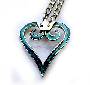 Kingdom Hearts Necklace Kingdom Crest