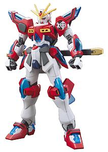 Gundam High Grade Build Fighters 1/144 Scale Model Kit: #043 Kamiki Burning Gundam