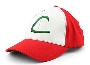Pokemon Cosplay Hat / Cap Ash Ketchum's (Original Series)