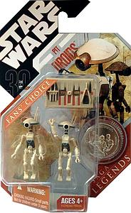 "Star Wars Saga Legends 3 3/4"" Fans' Choice Pit Droids"