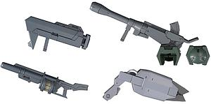 Gundam High Grade Iron-Blooded Arms 1/144 Scale Model Kit Accessories: #002 Mobile Suit Option Set 2 & CGS Mobile Worker