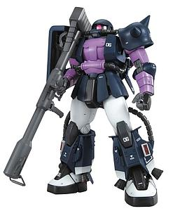 Gundam Master Grade 1/100 Scale Model Kit: MS-06R High Mobility Type Zaku II (Black Tri-Stars) Ver.2.0