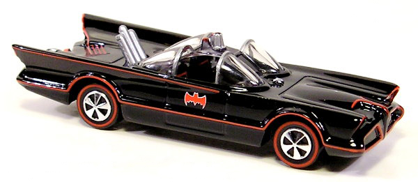 Hot Wheels 75th Anniversary Of Batman Die Cast Classic