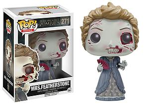 Pop! Movies Pride & Prejudice & Zombies Vinyl Figure Mrs. Featherstone #271 (Retired)