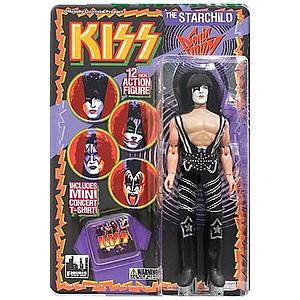 "KISS Retro 12"" Figure Series 3 Sonic Boom The Starchild (Paul Stanley)"