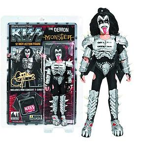 "KISS Retro 12"" Figure Series 4 Monster The Demon (Gene Simmon)"