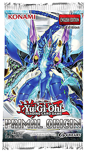 YuGiOh Trading Card Game: Primal Origin Booster pack