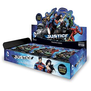 DC Comics Justice League 2016 Trading Cards Box