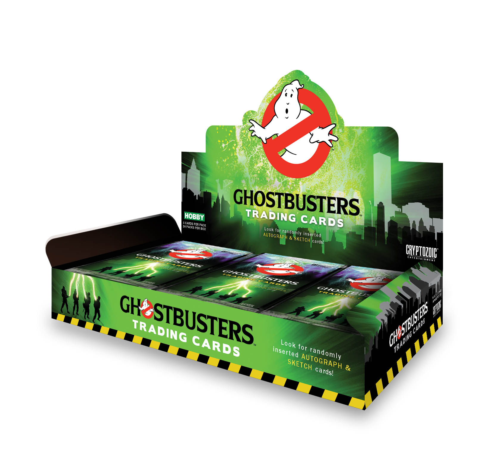 Ghostbusters 2016 Trading Cards Box
