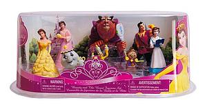 Disney Princess 8 Pieces Beauty & The Beast (Belle) Figurine Set