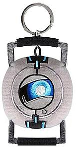 Portal 2 Wheatley Plush Keychain