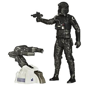 "Star Wars The Force Awakens 4"" Action Figure First Order TIE Fighter Pilot"