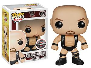 Pop! WWE Vinyl Figure Stone Cold Steve Austin #05 EB Games / GameStop Exclusive