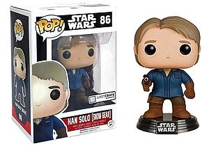 Pop! Star Wars The Force Awakens Vinyl Bobble-Head Han Solo (Snow Gear) #86 Loot Crate Exclusive