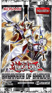Yugioh Trading Card Game: Breakers of Shadow Booster Pack