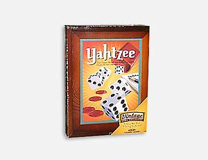Yahtzee Vintage Wood Box