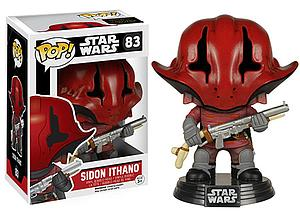 Pop! Star Wars The Force Awakens Vinyl Bobble-Head Sidon Ithano #83