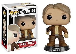 Pop! Star Wars The Force Awakens Vinyl Bobble-Head Han Solo #79