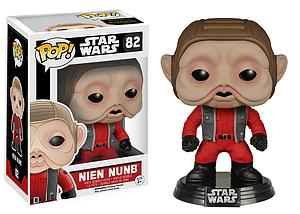 Pop! Star Wars The Force Awakens Vinyl Bobble-Head Nien Nunb #82 (Vaulted)