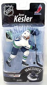 McFARLANE NHL Series 26 Ryan Kesler (Vancouver Canucks) White Jersey Collector Level Bronze (Only 1500 Made)